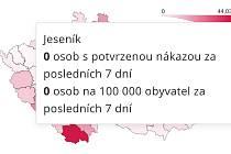 Na Jesenicku nebyla 7 dní potvrzena nákaza koronavirem.