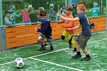 Nový sportovní a dětský areál v centru Postřelmova
