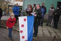 Běhu zámeckou bránou v Zábřehu se zúčastnily čtyři desítky běžců..