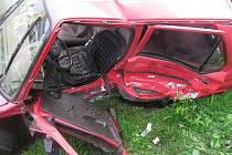 K vážné nehodě dvou osobních aut došlo v pondělí 1. srpna před čtvrtou hodinou odpoledne v Rovensku