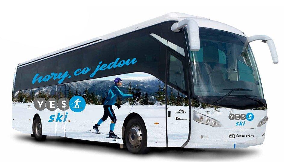 Sdružení cestovního ruchu Jeseníky zřídilo zájezdovou dopravu pro běžkaře