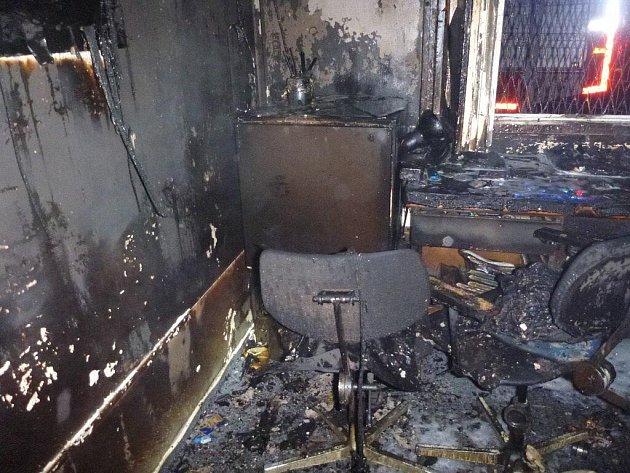 V Šumperku shořela 8. listopadu vrátnice u firmy ve Vikýřovické ulici