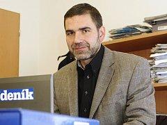 Ředitel Šumperské provozní vodohospodářské společnosti Radim Jirout.
