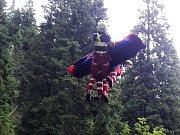 Ve čtvrtek 20. července zasahovala horská služby v údolí Bílé Opavy. transportovala zraněného muže