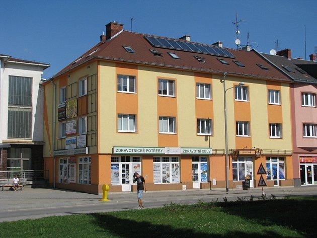 Dům Ivana Vavříka v Zábřehu.