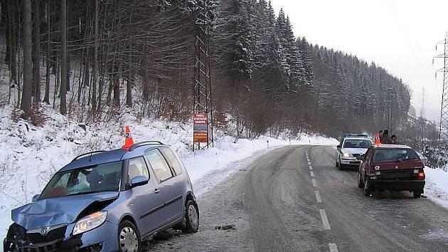 Dopravní nehoda na Ramzové