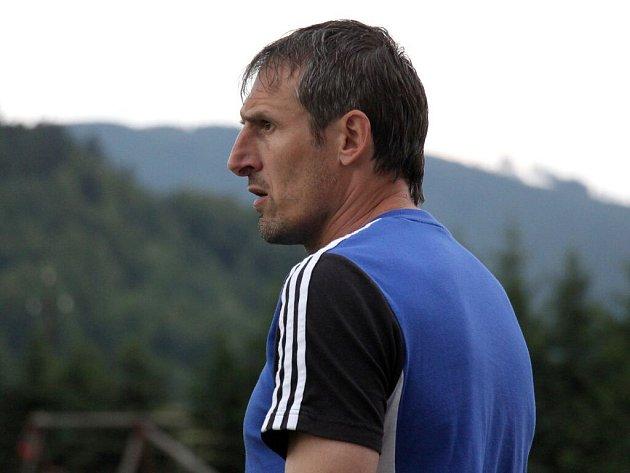 Trenér HFK B Jiří Derco