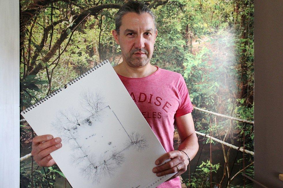 Jesenický fotograf Tomáš Neuwirth.