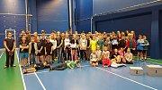 Hráči a hráčky 1. BK Šumperk uspěli na turnaji v Brně.
