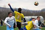 Fotbalisté Šumperku v přípravě proti Olešnici