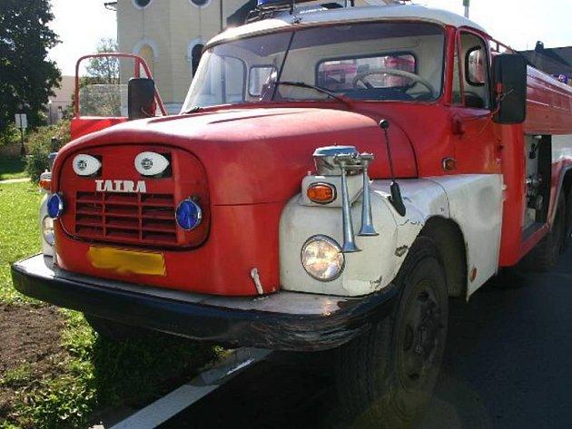 Tatra jesenických dobrovolných hasičů. Ilustrační foto