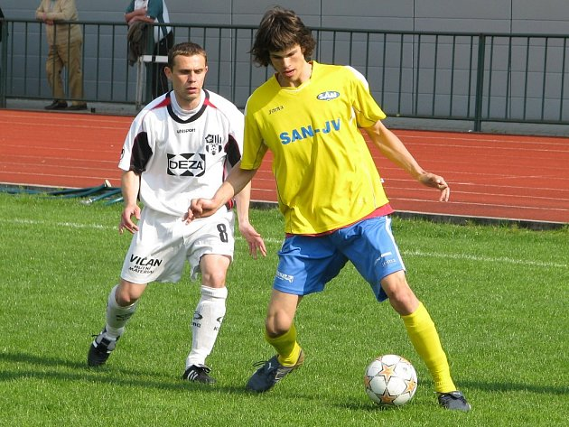 Lukáš Horák (žlutý dres) na ilustračním snímku