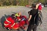 V Jeseníkách se v sobotu 9. května zranil malý cyklista.