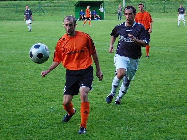 Oskava versus Velké Losiny (oranžové dresy)