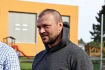 Tomáš Ujfaluši během úterního fotbalového náboru v Šumperku