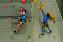 V Jeseníku se sešla mládežnická elita sportovních lezců