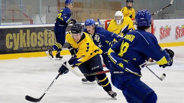 Hokejová juniorka Šumperku v utkání s Přerovem. Ilustrační foto