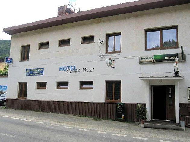 Hotel Musil, Kouty nad Desnou