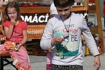 Jedna z akci spolku Sudetikus: Velikonoční slavnost v Jeseníku v roce 2017.