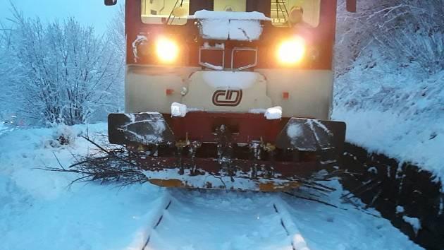 Nehoda vlaku v Mikulovicích