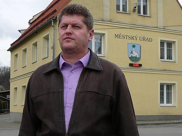Starosta Žulové Radek Trsťan.