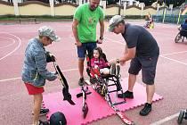 Iniciativa Děti dětem udělala dobrou věc a zároveň veřejnosti představila paralympijské sporty.