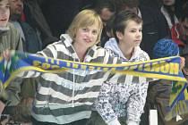 Fanoušci šumperských hokejistů