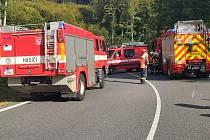 Tragická nehoda motorkáře na Čevenohorském sedle v sobotu 19. září 2020