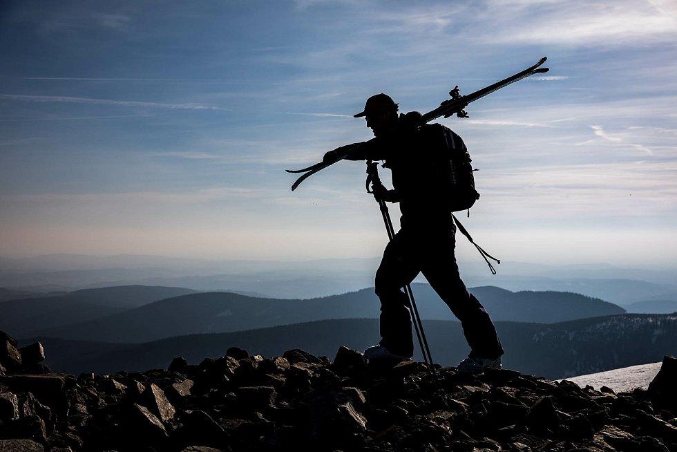 Skialpinismus. Ilustrační foto