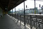 Na nádraží v Šumperku ve čtvrtek 16. června v půl osmé ráno