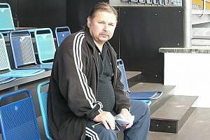 Předseda OFS Šumperk Bohuslav Charvát v dobách, kdy byl funkcionářem Zábřehu.