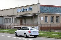 Areál závodu Hedva v Zábřežské ulici v Šumperku.