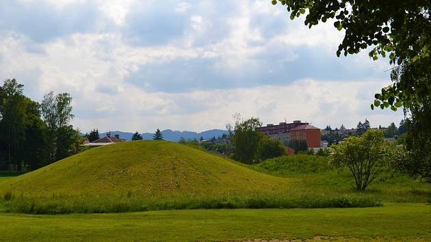Prostor budoucího parku Knížecí sady v Zábřehu