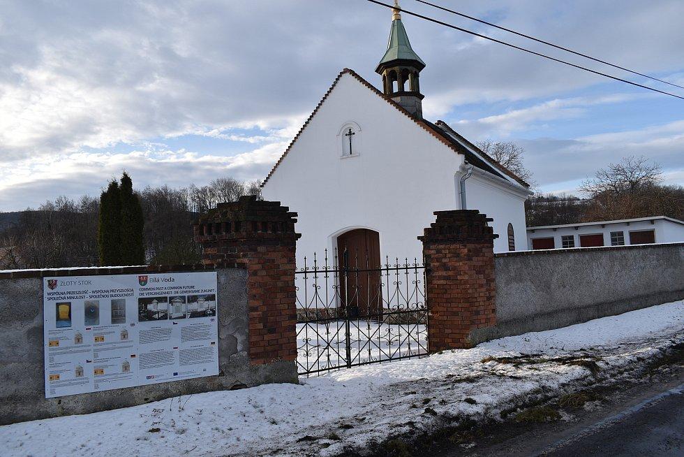 Bílá Voda - hřbitovní kaple.