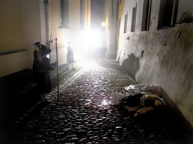Morová rána v ulicích Šumperku