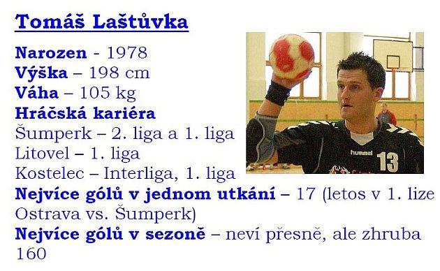Data Tomáše Laštůvky