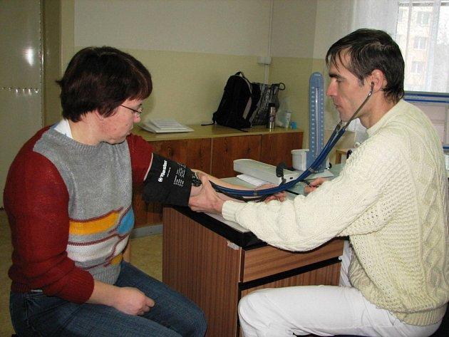 Maria Adina Šulková patřila k prvním pacientům nového praktického lékaře ve Vidnavě Pavla Neničky.