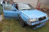 Osmnáctiletý řidič z Ústí nad Orlicí havaroval v neděli 9. února kolem půl jedné v noci na silnici mezi Štíty a obcí Cotkytle.