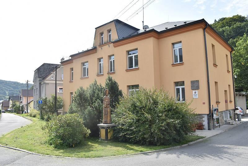 Oskava - obecní úřad.
