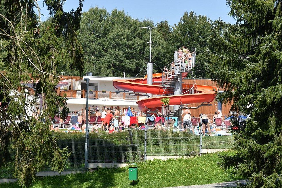 Velké Losiny - termální park.