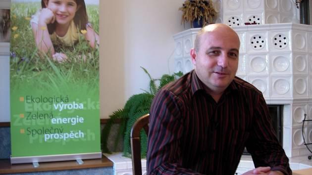 Mluvčí firmy Wanemi Petr Vintrocha