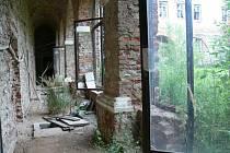 Interiér zámku Loučná