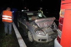 Nehoda v Rapotíně.