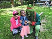 S bozeňovským vodníkem Čochtanem se děti nenudily. Při plnění úkolů jim byl ochotným  pomocníkem i rádcem.