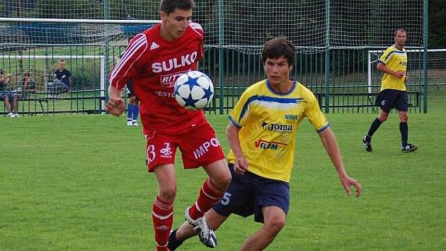 Velké Losiny versus Sulko Zábřeh (červené dresy)