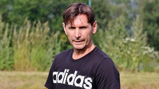 Fotbal Šumperk, trenér Zdeněk Opravil. Ilustrační foto