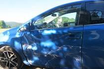 Dvě auta se střetla v Lipové – lázních.