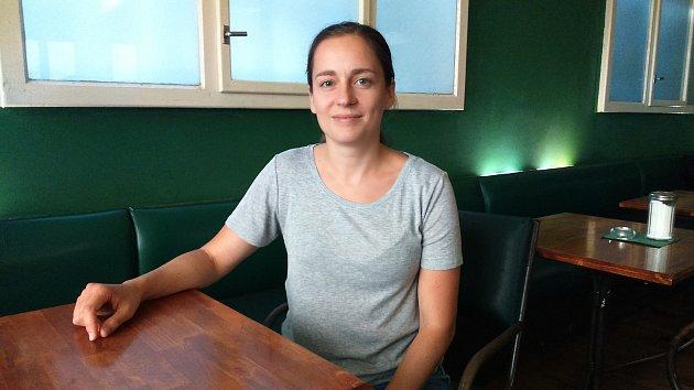 Mluvčí české odnože Rebelie proti vyhynutí Veronika Holcnerová