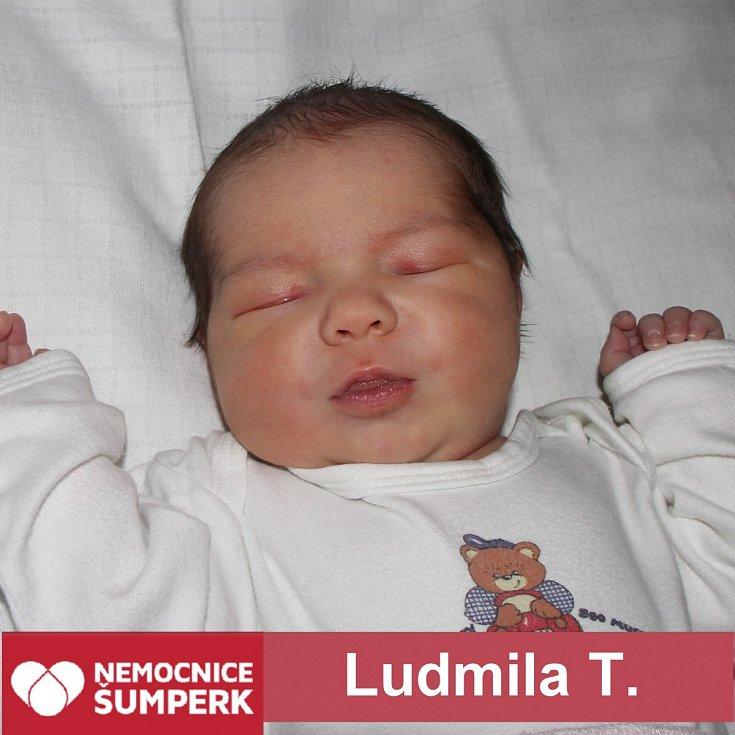 Ludmila T., Palonín