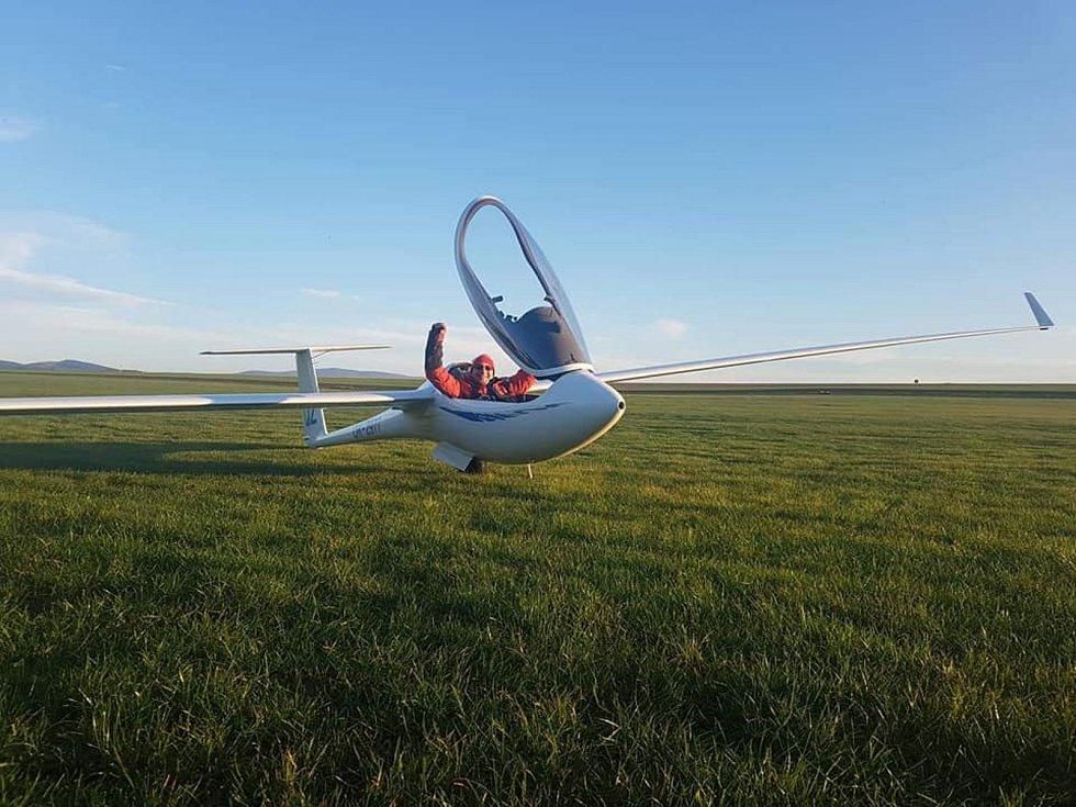 Snímky z dálkových letů Davida Macha.